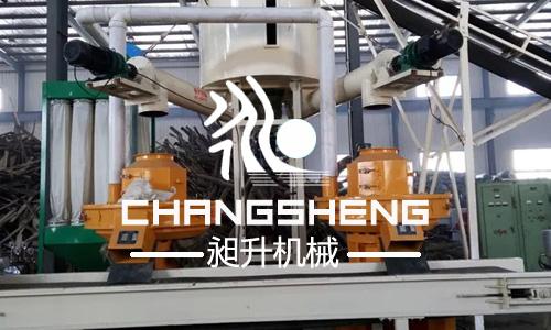 时产2-3吨木屑万博手机注册登陆生产线