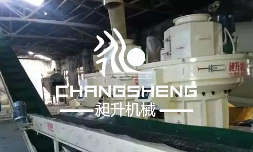 时产3-4吨木屑万博手机注册登陆生产线